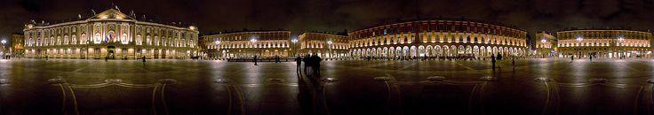 Place du Capitole vue panoramique