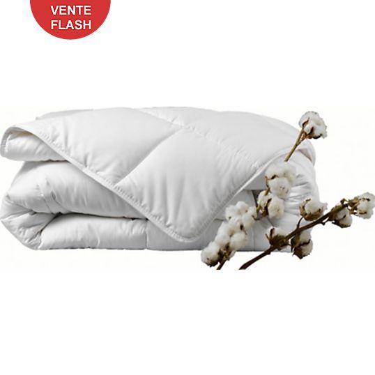 Couette Bio coton biologique, tempérée - Couettes - Equipement du lit - Literie (200 x 200) 97.95€