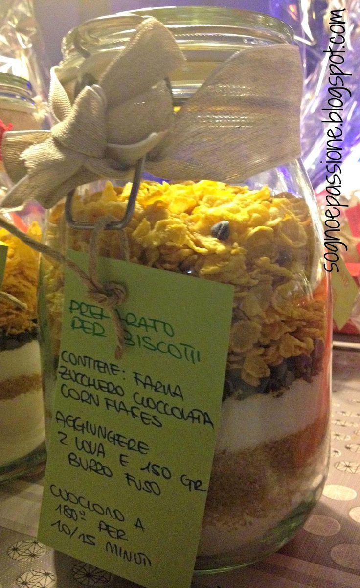 Preparato per biscotti con corn flakes http://sognoepassione.blogspot.it/2014/12/preparato-per-biscotti-corn-flakes.html