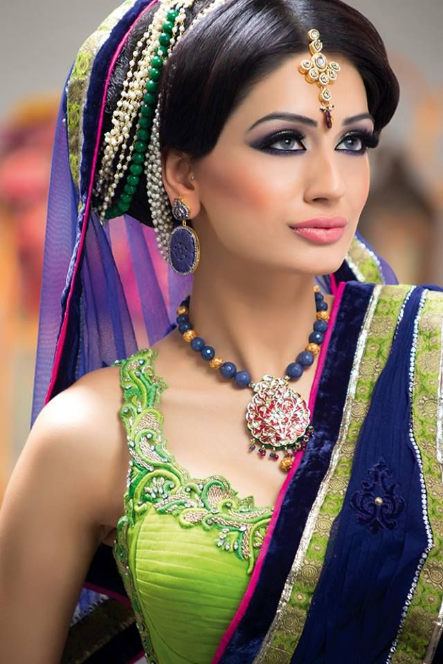 MU by:Sadaf Khan Outift by:Sonas Haute Couture