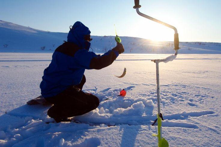 IJsvissen in Dalarna, Zweden! www.buroscanbrit.nl/overige_winterexcursies_zweden