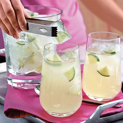 Punch and Cocktail Summer Drink Recipes: Limeade