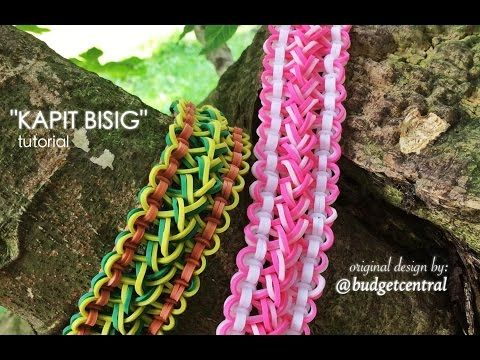 Monster Tail - KAPIT BISIG Bracelet. Designed by @budgetcentral. Tutorial and looming by Jays Alvarez. Click photo for YouTube tutorial. 10/05/14.