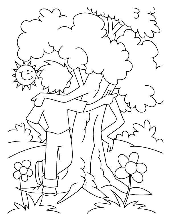 12 Desenhos Para Imprimir E Colorir Do Dia Da Arvore Arvore