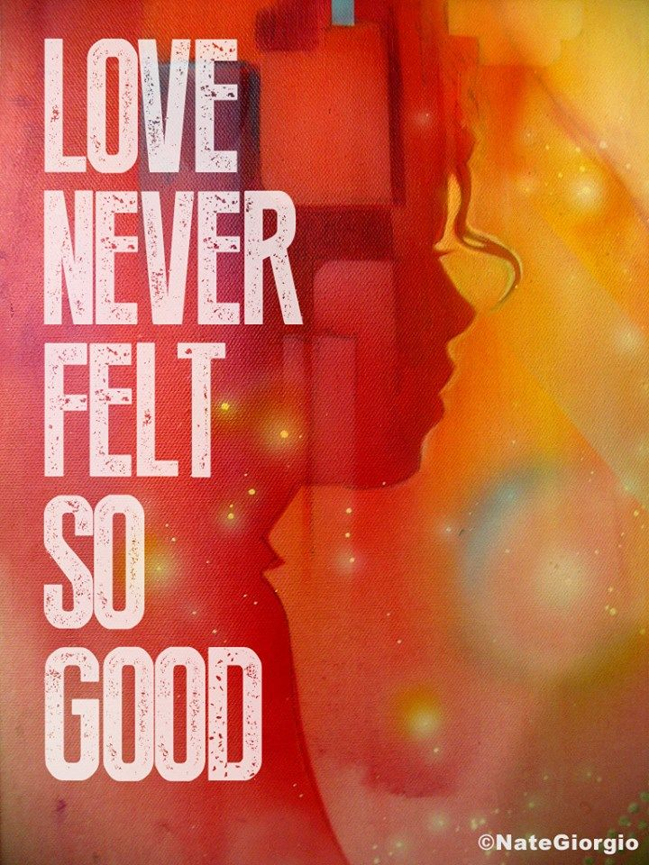 """Nate Giorgio - Love Never Felt So Good, artwork for the both versions of this song by Michael Jackson? New album """"XSCAPE"""" - don't miss it!"""