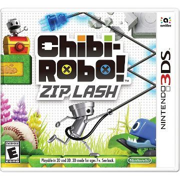 Chibi-Robo!: Zip Lash (Nintendo 3DS)