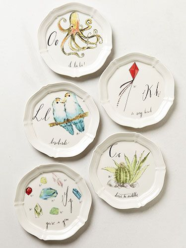 24 best anthropologie look images on pinterest for Calligrapher canape plate anthropologie