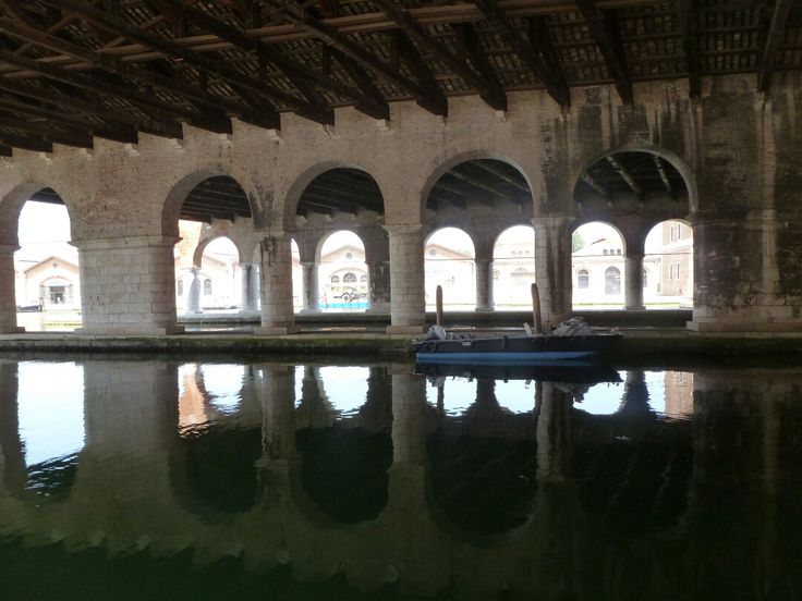 Arsenal, Venice. #water #boat #reflection