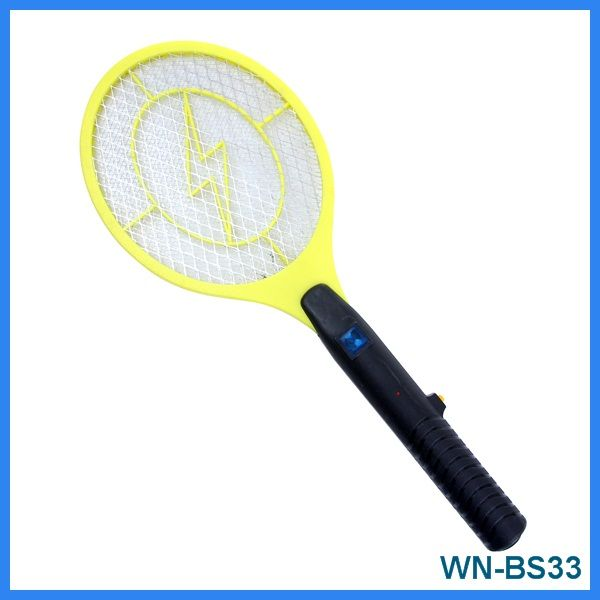 Three layers insect catcher, bug zapper, mosquito swatter, mosquito racket with CE-EMC