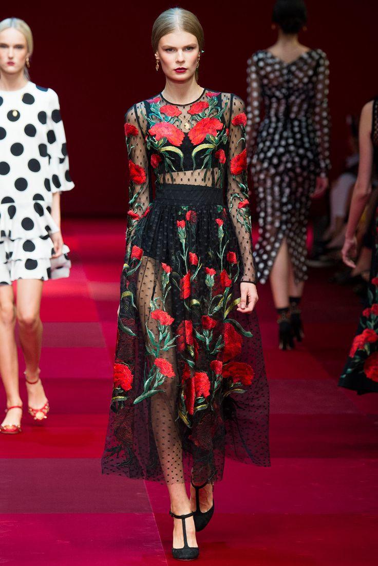 Dolce & Gabbana - Spring 2015 Ready-to-Wear - Look 72