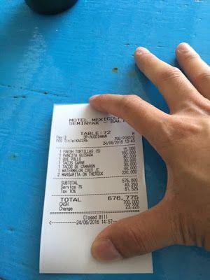 Pelayanan Yang Mengecewakan di Restoran Motel Mexicola - BUKA INDO