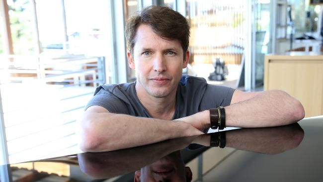 James Blunt shoots Don't Give Me Those Eyes in Sydney, Australia | Daily Telegraph