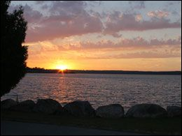 Sunset From Wye Marina