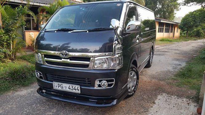 Van Toyota KDH200-Super GL For Sale Sri lanka  Toyota KDH