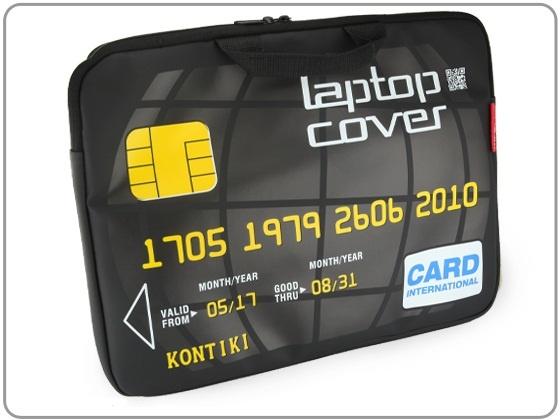 Pokrowiec na laptopa jako karta kredytowa    http://crazygifts.pl/shop/szczegoly/132/pokrowiec-na-laptopa-karta-kredytowa