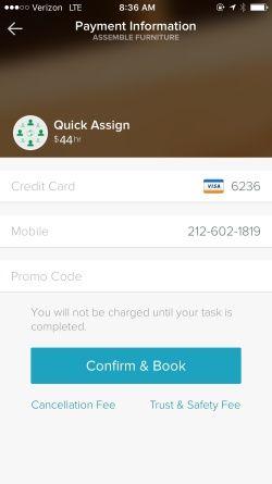 TaskRabbit Screenshots