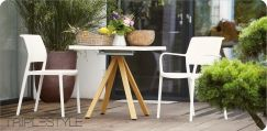 Jan Kurtz Ara stapelbarer Stuhl Kunststoff