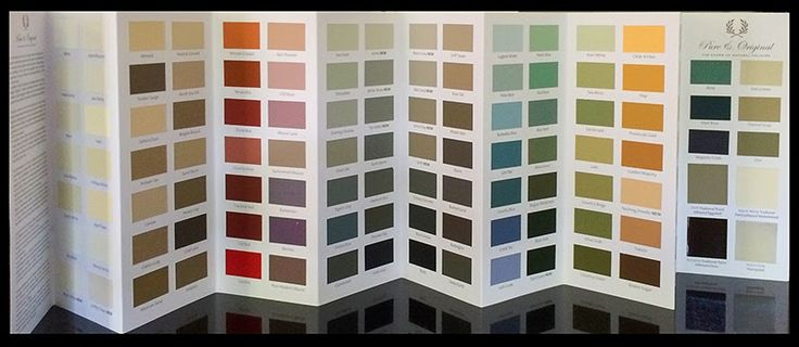 Creating a paint chart for Pure & Original Classico was a somewhat daunting project. Over 120 colors are available in this chalk based pai...