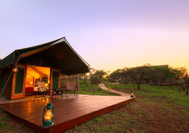 Mavela Game Lodge makes glamping extra good!