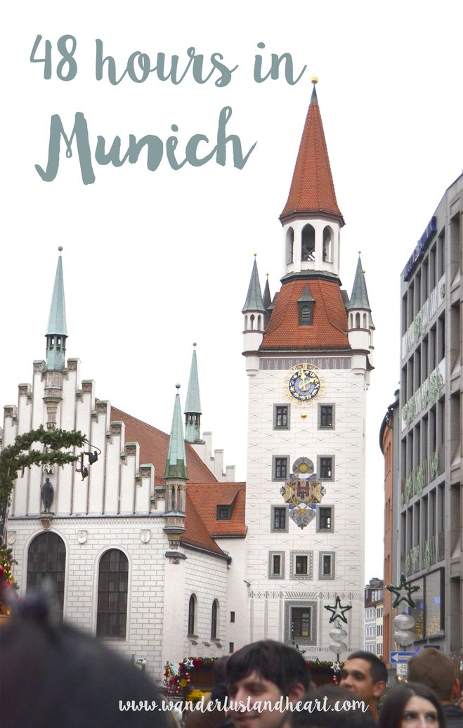 What can you get done with only 2 days in Munich, Germany?