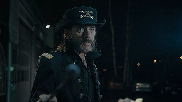One month before Motorhead legend Lemmy passed away, he appeared in an advert for Finnish milk.