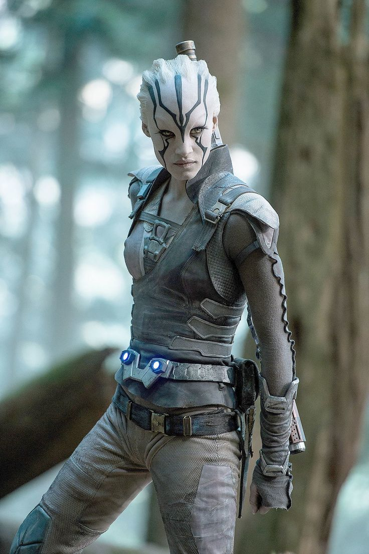 "Sofia Boutella plays Jaylah in ""Star Trek Beyond."" (Kimberley French, Paramount…"