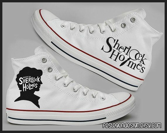 Hey, I found this really awesome Etsy listing at https://www.etsy.com/listing/174993483/sherlock-painted-shoes-custom-converse