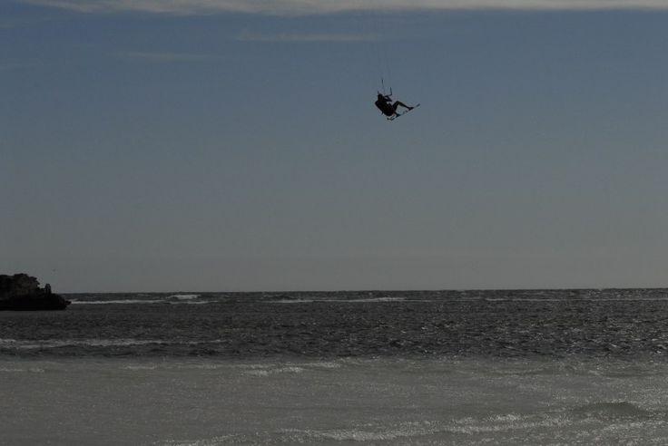 Kitesurfing in Lancelin