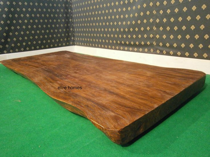 UK STOCK ~ Rustic Solid one piece . meter long wood table top
