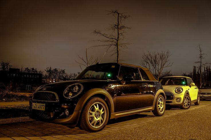 DriveNow Mini Cooper parking night by OliverPviews