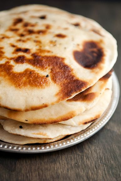 Indian Garlic Naan | Breads, Quickbreads, Biscuits, and Crackers | Pi ...