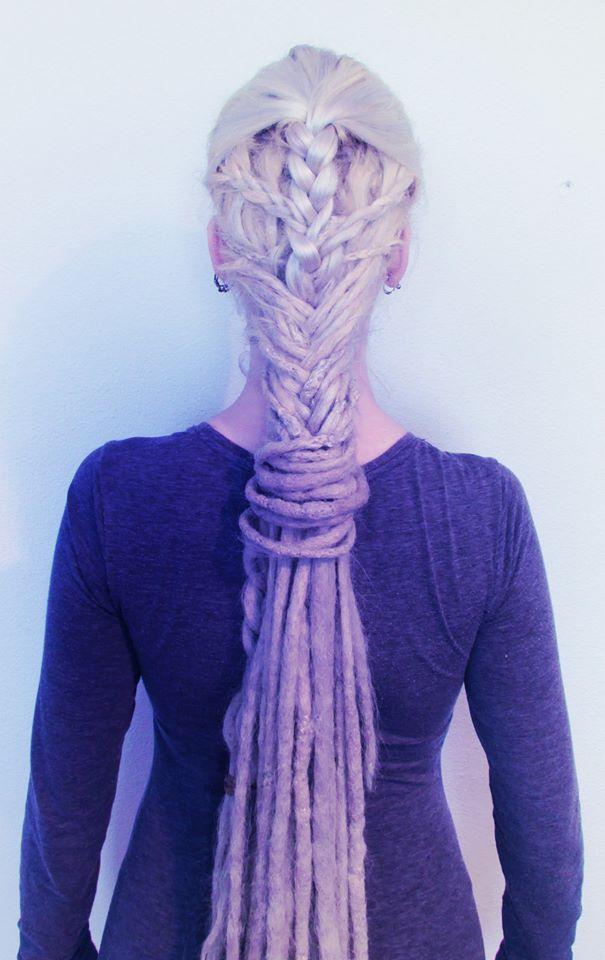 elvish braided dreadlocks <3