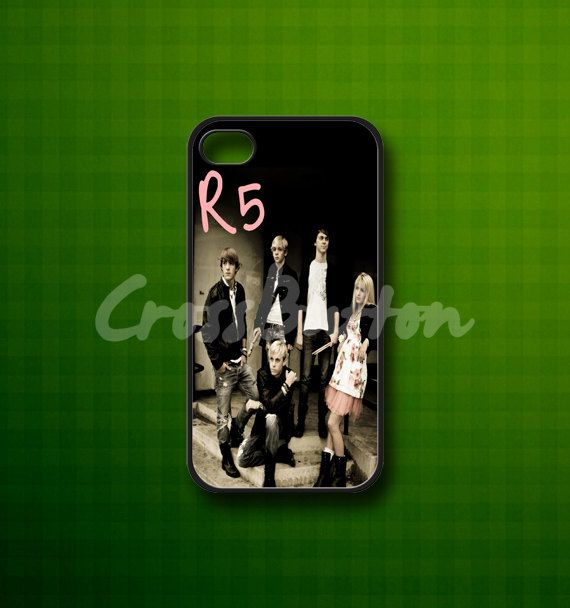 R5 Band  Rubber or Plastic Print Custom  by CrossButton on Etsy, $14.00