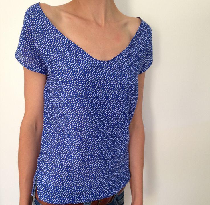 Tuto Blouse couture pour débutante...bon ce n'est pas hyper détaillé, mais ça motive :-) ! Et n'hésitez pas à visiter mon blog !!