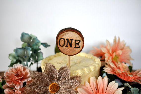 woodland cake topper custom woodland party by Elevatedpartysupply