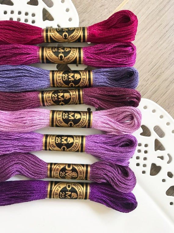 DMC 407 Dark Desert Sand Embroidery Floss 2 Skeins 6 Strand Thread for Embroidery Cross Stitch Needlepoint Sewing Beading