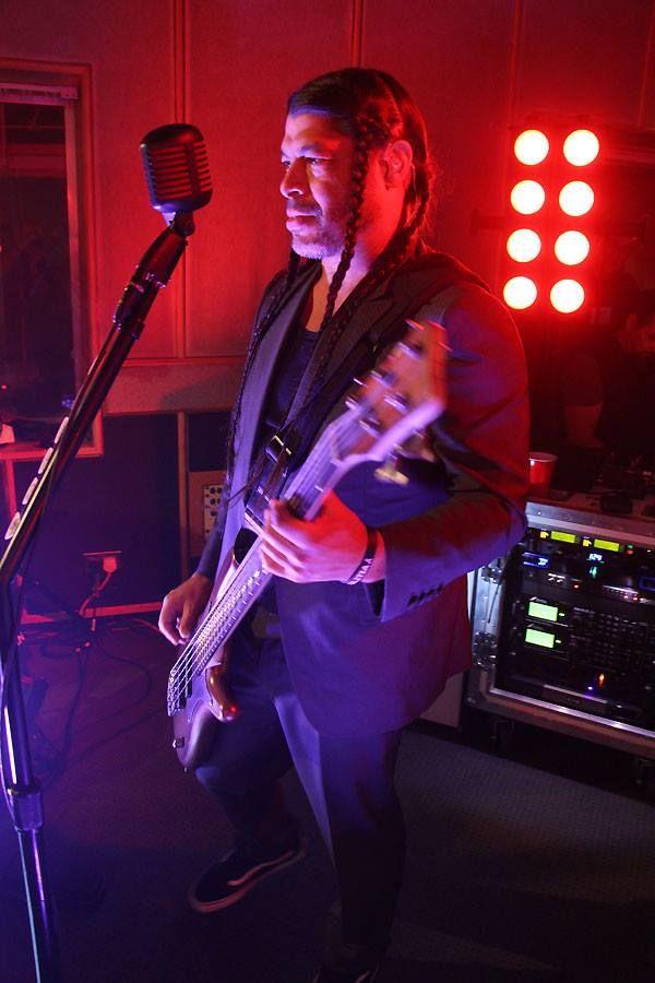 Maida Vale Studios - Metallica (Robert Trujillo)