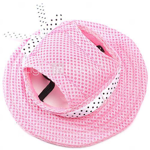 Bandanas e Chapéus para Cães / Gatos Vermelho / Preto / Azul / Rosa / Púrpura / Laranja Primavera/Outono S / M Terylene de 2016 por $7.99