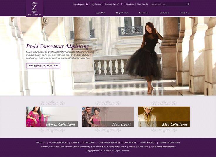 Homepage Mock-up Design
