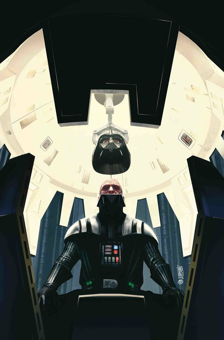 Darth Vader in the Healing Chamber