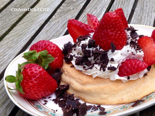 CDJetteDC's LCHF: Lowcarb marengs fuglereder