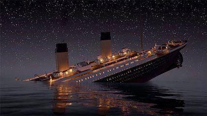 Este video muestra imágenes del naufragio del Titanic en animación 3D y a tiempo real. El material tiene una duración de casi 3 horas, tiempo aproximado en que la emblemática embarcación se hundió hace ya 104 años.