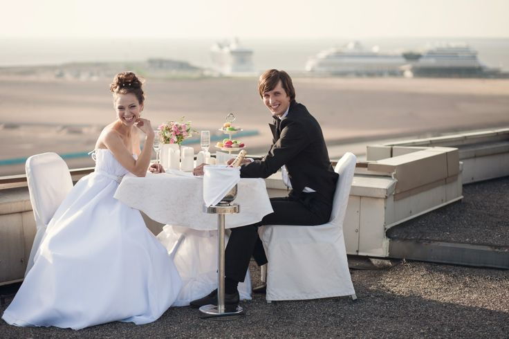 We offer wedding photosession on the hotel's roof!