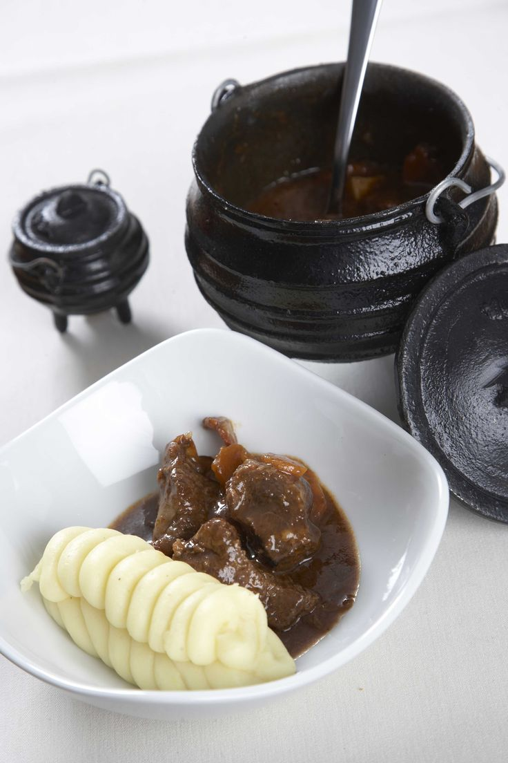A traditional South African dish, the potjie kos, served at High Timber, London.