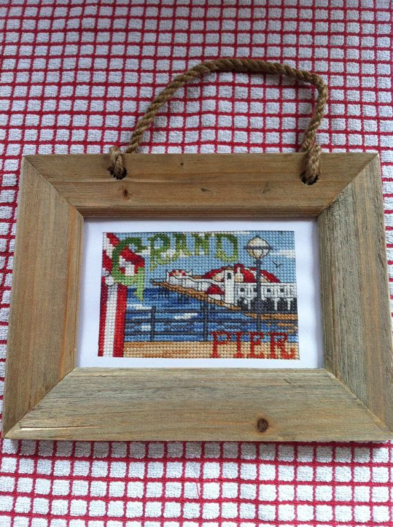 Grand Pier wall hanging framed picture on Etsy, £7.99
