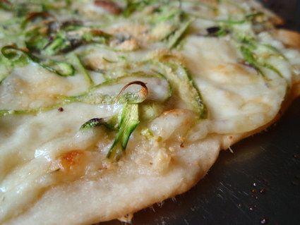 Shaved Asparagus Pizza | Recipies | Pinterest