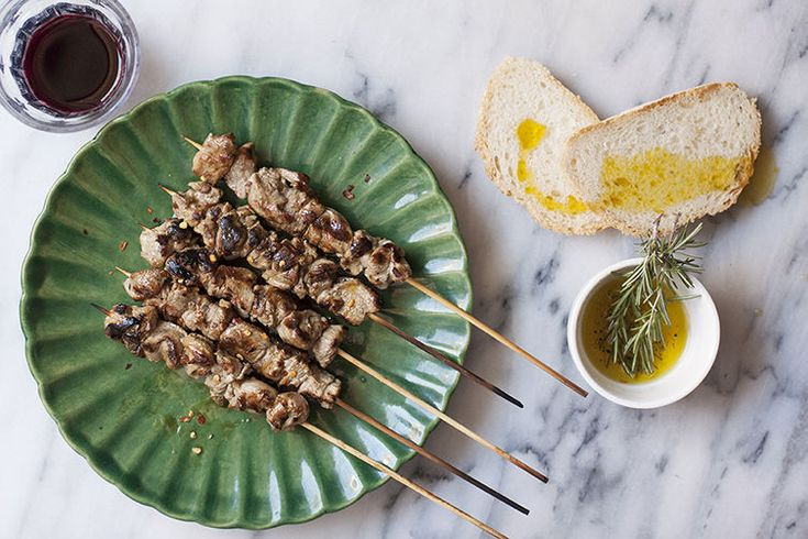 Arrosticini? Yes please! Delicious & easy to make: Three-Ingredient Lamb Skewers http://food52.com/blog/12997-three-ingredient-lamb-skewers-from-abruzzo-italy?utm_content=buffer26886&utm_medium=social&utm_source=pinterest.com&utm_campaign=buffer via Food52