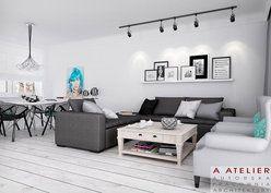 #projekt #wnetrz #salon #Paris, Paris A Atelier #living #room  http://www.domowy.pl/projekty-wnetrz/salon/paris-paris-salon-i-jadalnia.html