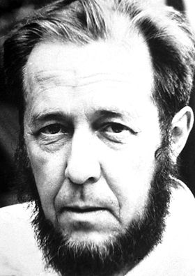 """Alexandr Solzhenitsyn   Nobel Prize 1970:  For the ethical force with which he has pursued the indispensable traditions of Russian literature   """"If only it were all so simple! If only there were evil people somewhere insidiously committing evil deeds, and it were necessary only to separate them from the rest of us and destroy them. But the line dividing good and evil cuts through the heart of every human being. And who is willing to destroy a piece of his own heart?"""" - The Gulag Archipelago"""