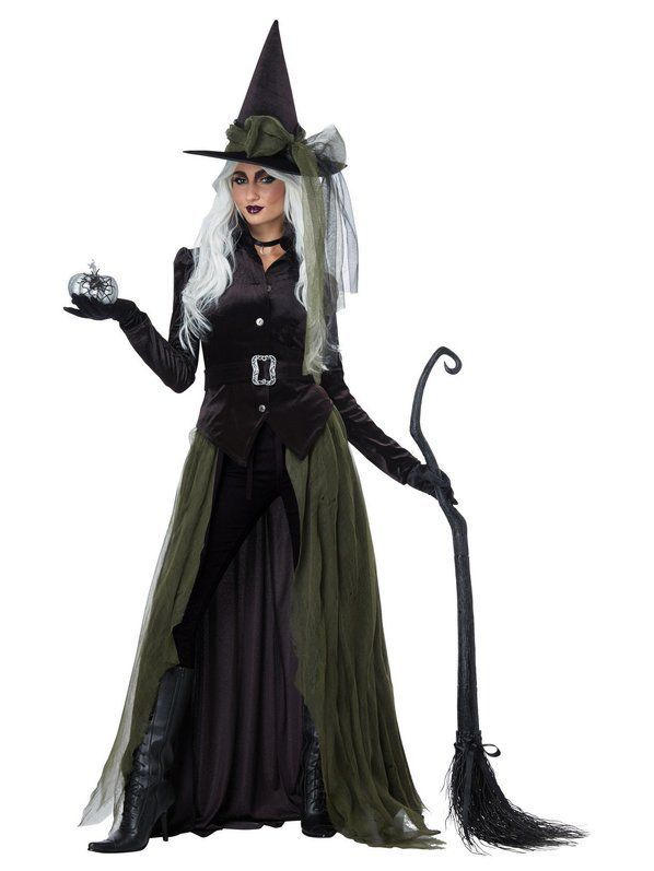 California Costumes Women/'s Witch/'s Broom Black One Size